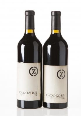 Dos botellas de Dehesa de Cadozos 2003.