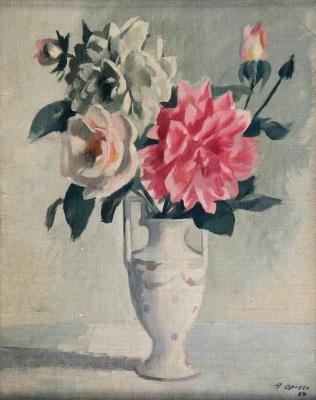 """""""Florero"""", 1927. OPISSO CARDONA, Alfredo"""