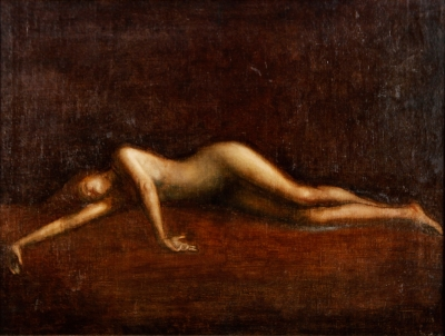 """""""Desnudo"""", 1925. VIARDOT, Georges Émile"""