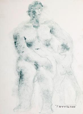 """Desnudo femenino"". MARTÍNEZ TARRASSÓ, Casimiro"