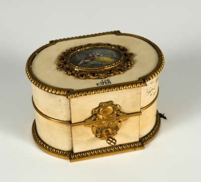 Caja con miniatura Napoleón III.