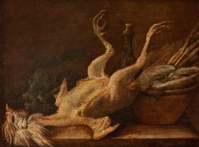 """Naturaleza muerta"", 1772. NANI, Mariano"