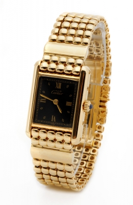 Lady's wristwatch, CARTIER Tank, mod. 4444, n.