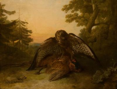 """La caza"", 1779 REINAGLE, Philip"