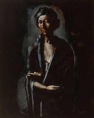 """""""Retrato"""", 1924. PRUNA OCERANS, Pere"""