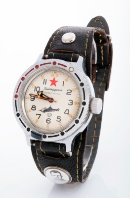 Gentleman's wristwatch, Vostok Komandiski antimagnetic, n. 235006.